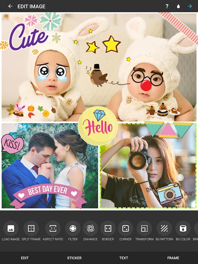 PicMix - Photos in Collages- screenshot
