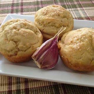 Gluten-Free Garlic Onion Muffins.