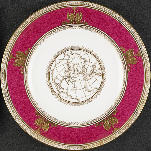 Commemorative plate for Standard Telephones & Cables