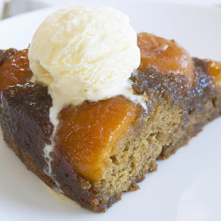 Caramelized Apricot Upside-Down Cake