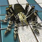 Futuristic Spider Robot Transform Battle