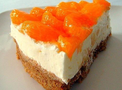 Mandarin & Pineapple Cheesecake Recipe