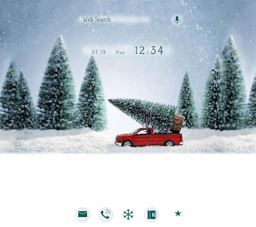 背景圖片/icon 打造聖誕節 +HOME