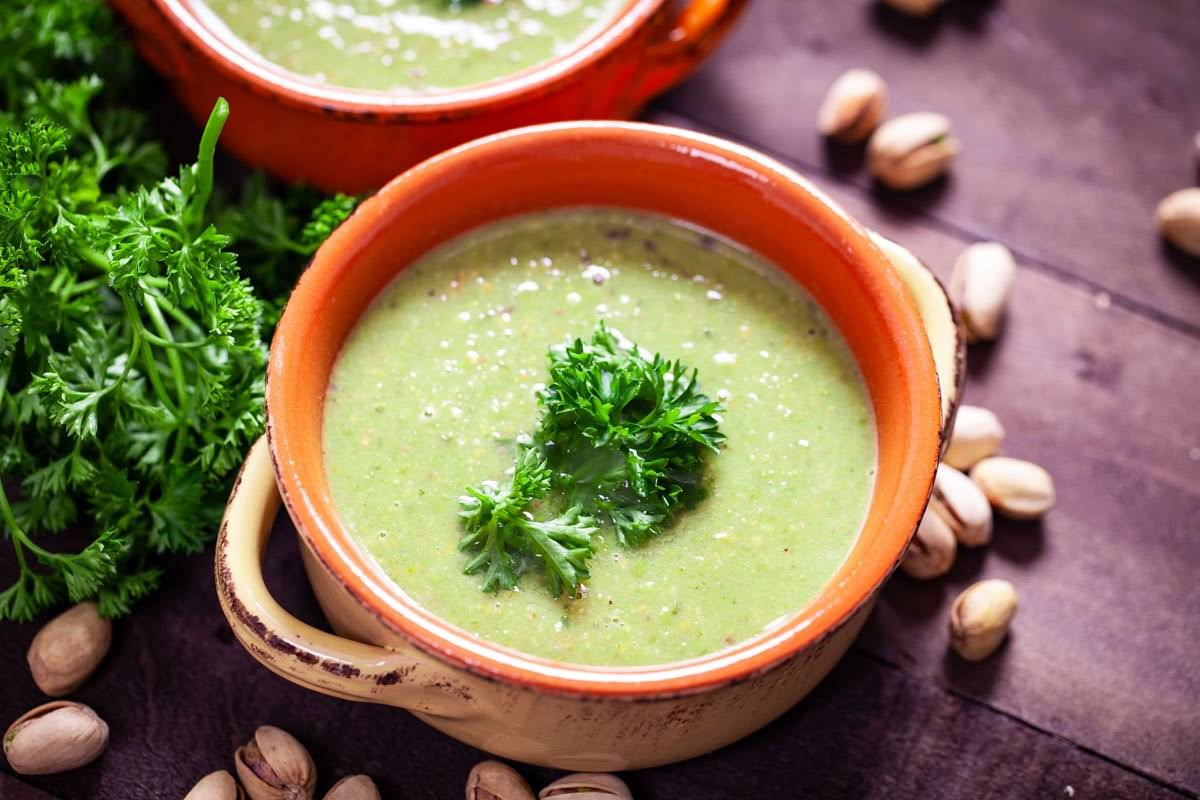 A Comforting and Protein-Rich Vegan Pea Soup