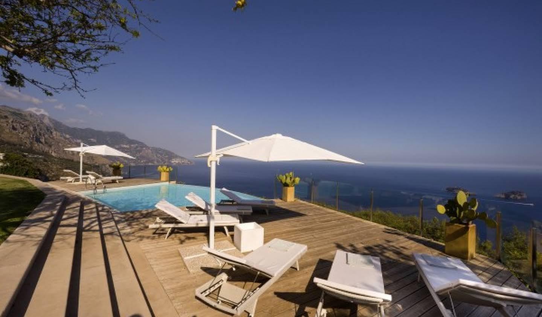 Villa avec piscine en bord de mer Sorrente