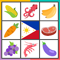 Market Palengke Quiz (Filipino Food Game) icon