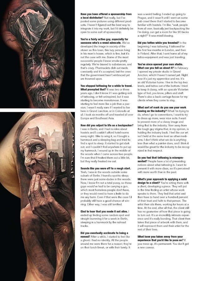 Inked Magazine- screenshot