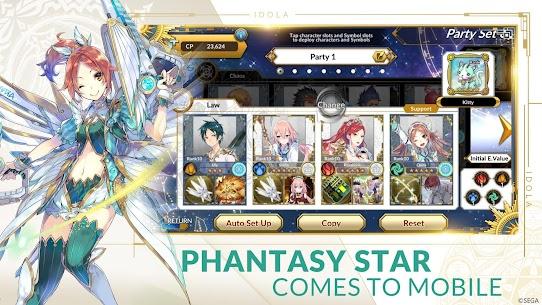 Idola Phantasy Star Saga MOD (MOD Menu/Damage Multiple) 2