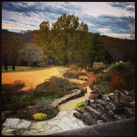 Cheekwood by Mary Phelps - Instagram & Mobile iPhone ( nashville, tennessee, fall, cheekwood, iphone, landscape )