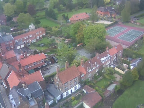 Photo: From the church tower, and the SE view towards the old school teacher area of the town.