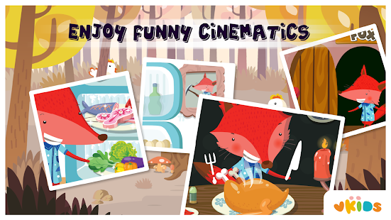 Kids Animal Game - The Fox- screenshot thumbnail