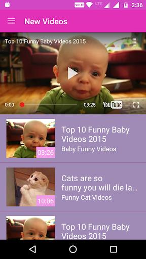 Top Funny Videos HD 1.4 screenshots 1