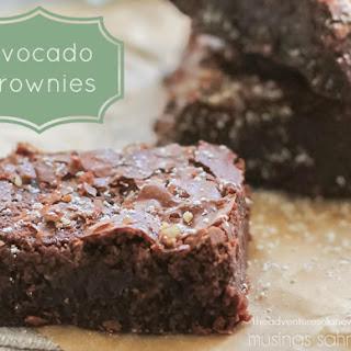 Super-Moist Guilt-Free Avocado Brownies