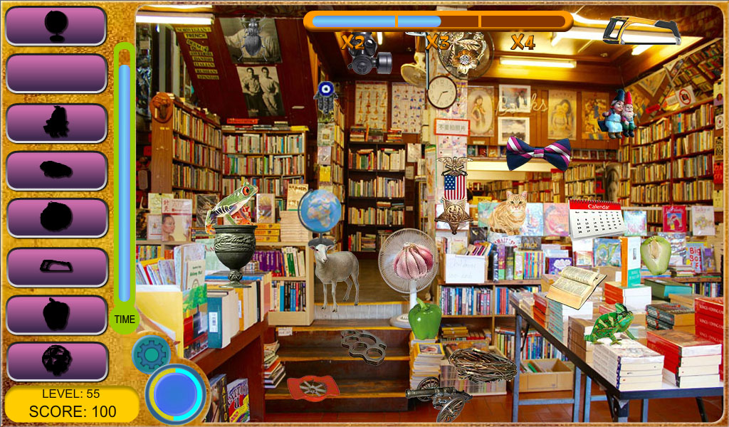 Time Library - Hidden Object- screenshot