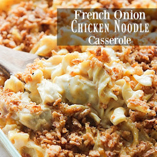 Chicken Noodles Onion Casserole Recipes