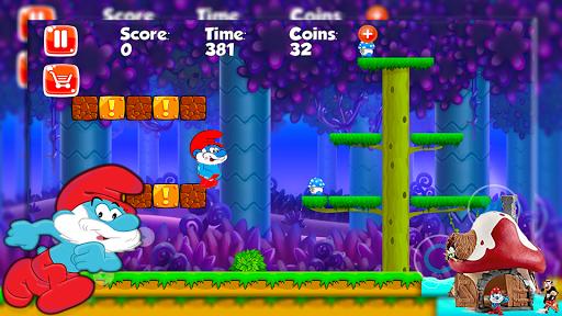 Papa Adventure Smurf Leps World 1.0 screenshots 1