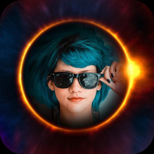 Eclipse Photo Frames Icon