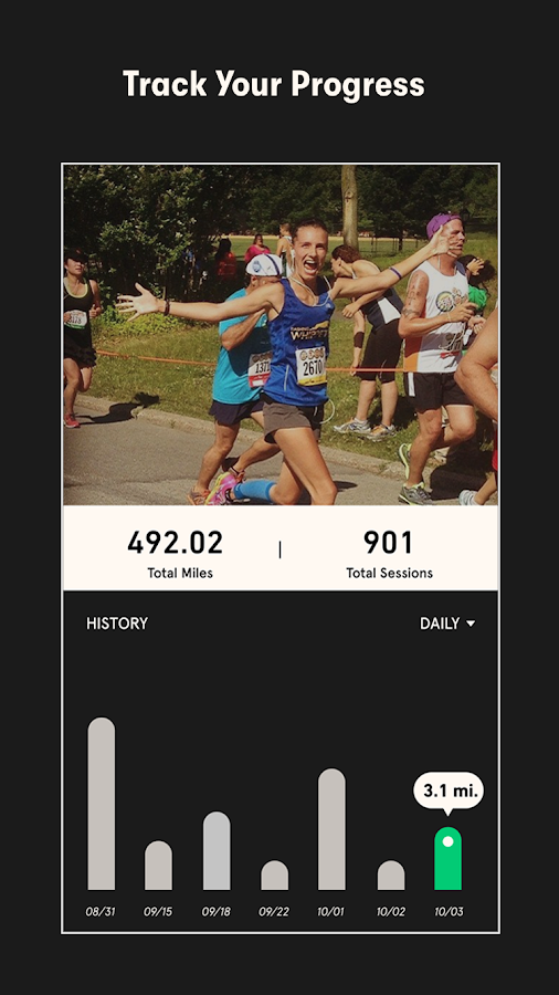 Charity Miles: Walking & Running Distance Tracker: captura de tela