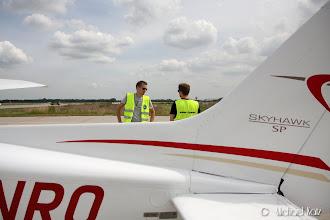 Photo: Anders og Ola på Bremen Airport før avgang til Billund Lufthavn.
