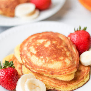 Coconut Flour Pancakes - Gluten Free, Paleo.