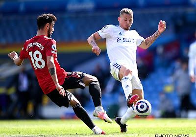 Manchester United lijdt duur puntenverlies bij Leeds, maar blijft wel ongeslagen op verplaatsing in de Premier League