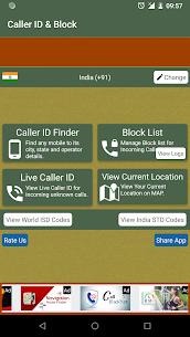 Mobile Call Number Tracker & Blacklist 2.0 APK Mod Updated 1