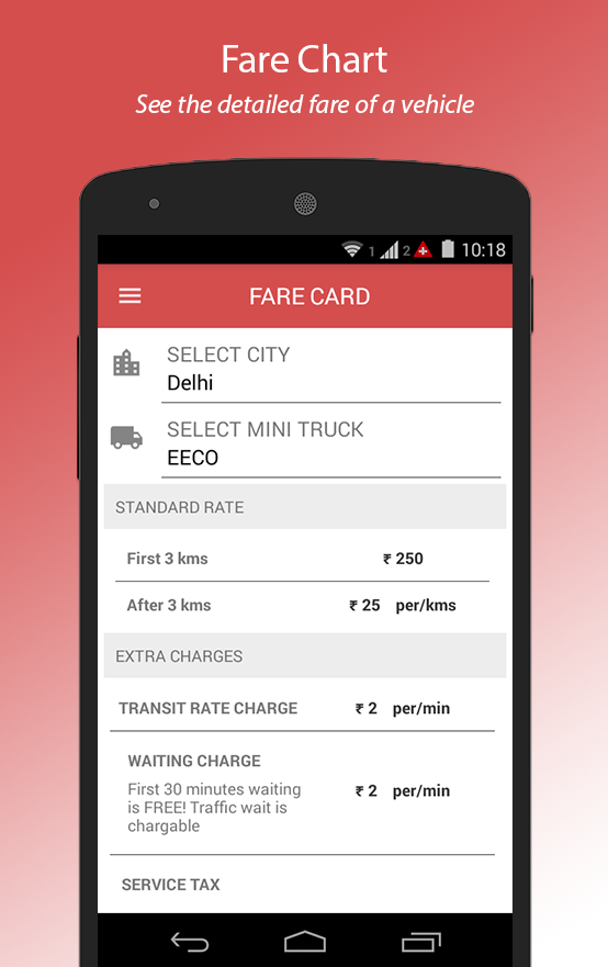 Moovo - Hire Trucks in India- screenshot