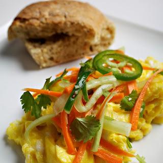 Banh Mi Scrambled Eggs.