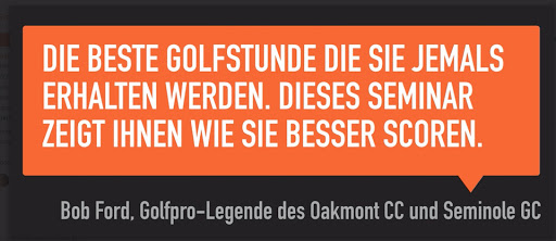 Die beste Golfstunde LSW