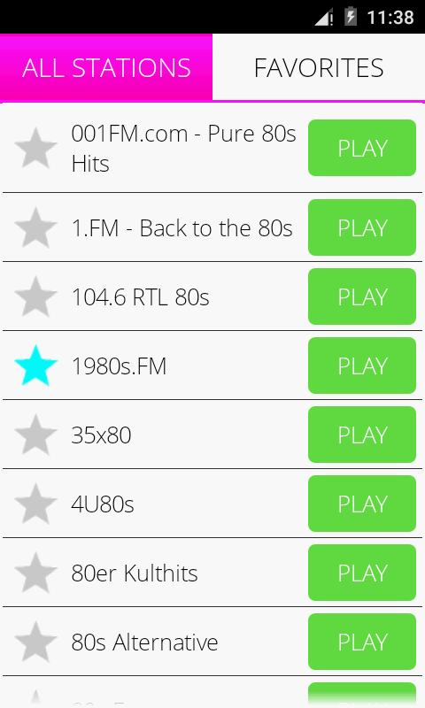 80s Music Radio Pro- screenshot