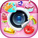 Photo Editor with Stickers icon
