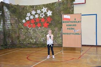 """Photo: II Międzyszkolny Konkurs Piosenki Patriotycznej """"Moja Ojczyzna"""""""