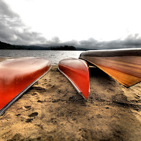 Journey's End by Andy Barrow - Transportation Boats