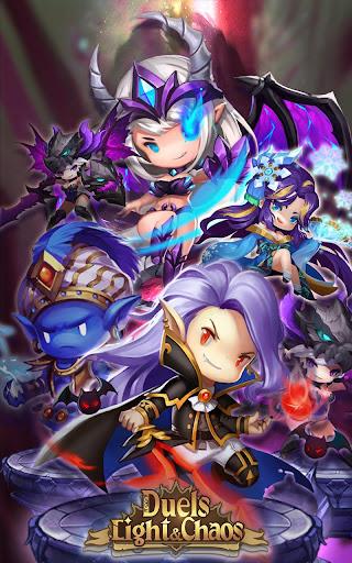 Code Triche Light & Chaos Duels:PvP Card Battles(CCG/TCG) mod apk screenshots 2