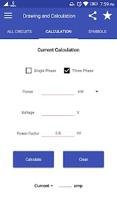 Electrical Drawing : Diagram, Calculation & Symbol App Download For Android 4