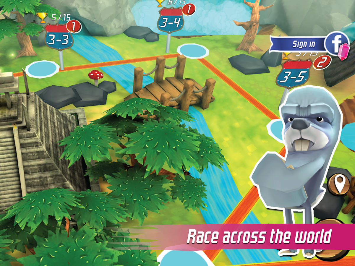 Nitro Chimp Grand Prix- screenshot