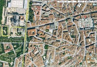 Photo: Mapa de gran parte del recorrido