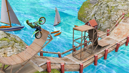 Stunt Bike Racing Game Trial Tricks Master 1.1 Screenshots 1