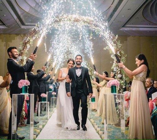 Firecrackers wedding