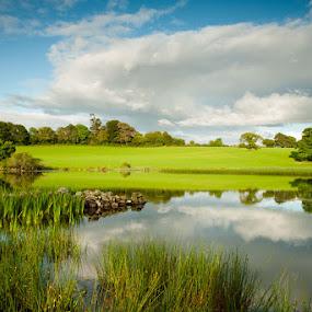 Ardagh Lough by Paul Garnett - Landscapes Waterscapes ( co, ardagh, ireland, killarney, kerry, lough )