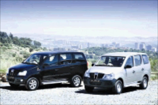 SMART SET: Mahindra's Xylo comes in two versions ideal for SA conditions. Cicra 2009. Pic. Unknown.