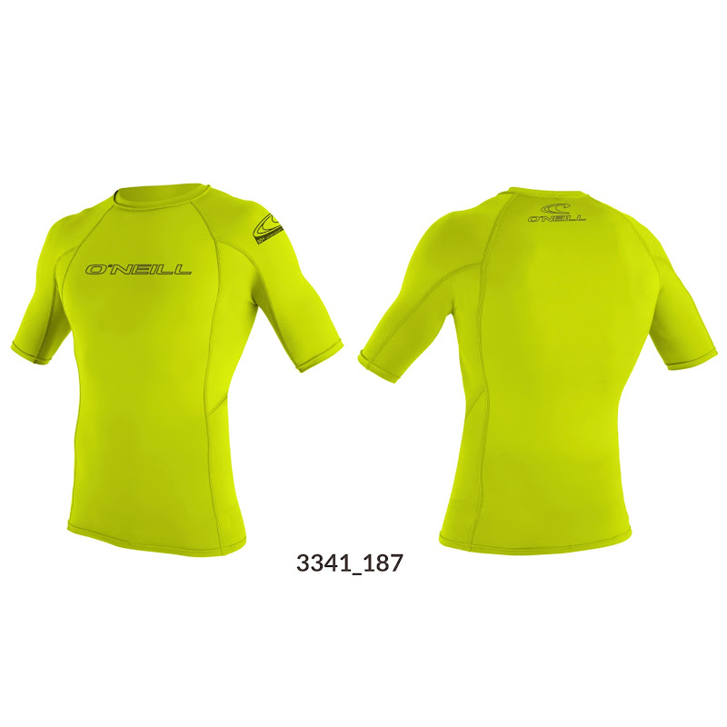 Basic skin S/S crew lime O'NEILL 3341