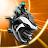 Gravity Rider: Extreme Balance Space Bike Racing Icône