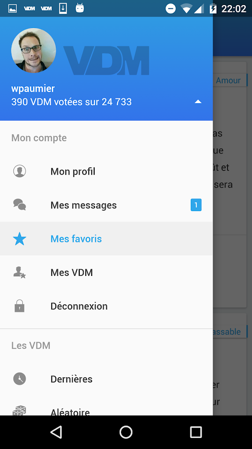 VDM Officiel- screenshot