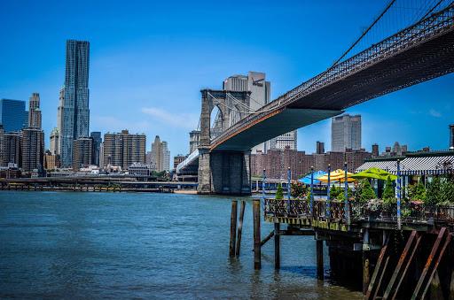 brooklyn-bridge-new-york.jpg - The Brooklyn Bridge in New York was completed in 1883.