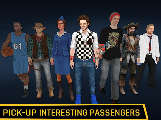 City Taxi Driving: Fun 3D Car Driver Simulator 1.2 screenshots 12