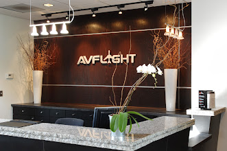 Photo: Inside the AvFlight East Terminal, Willow Run Airport (YIP). Credit: Wayne County Airport Authority/Vito Palmisano.