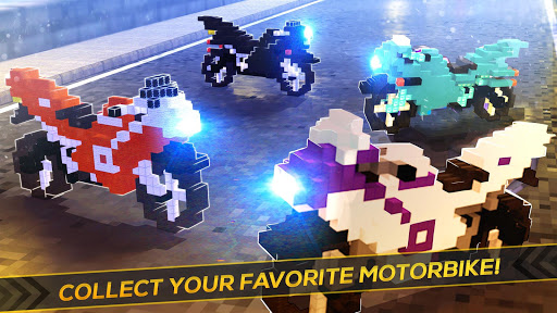 Blocky Superbikes Race Game - Motorcycle Challenge apkmr screenshots 3