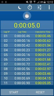Alarm Clock Timer Stopwatch- screenshot thumbnail