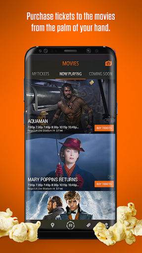 Regal: Movie Tickets & Showtimes 5.5.2 screenshots 1